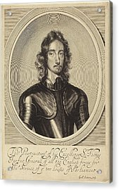 William Faithorne After Robert Walker English Acrylic Print