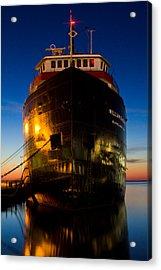 William G. Mather Maritime Museum Cleveland Ohio Acrylic Print by John McGraw