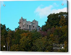 William Guillette Castle Acrylic Print