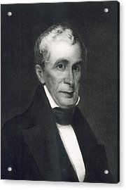 William Henry Harrison Acrylic Print by Eliphalet Frazer Andrews
