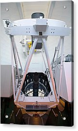 William Herschel Telescope Acrylic Print by Adam Hart-davis/science Photo Library
