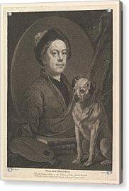 William Hogarth Acrylic Print