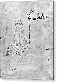 William Of Ockham (c1285-?1349) Acrylic Print by Granger