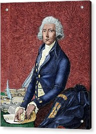 William Pitt (london 1708-hayes, 1778 Acrylic Print by Prisma Archivo