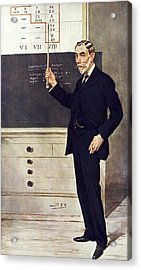 William Ramsay, Scottish Chemist Acrylic Print by Science Photo Library