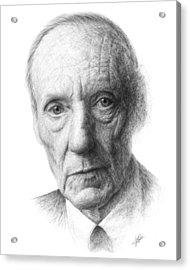 William S. Burroughs Acrylic Print