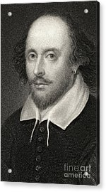 William Shakespeare Acrylic Print by English School