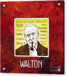 William Walton Acrylic Print by Paul Helm