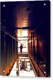 Williamsburg - Brooklyn - Hewes Street Overpass Acrylic Print by Vivienne Gucwa