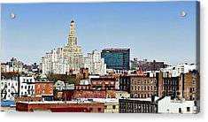 Williamsburg Savings Bank In Downtown Brooklyn Ny Acrylic Print