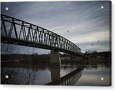 Williamstown Bridge Acrylic Print