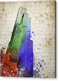 Willis Tower Acrylic Print by Aged Pixel