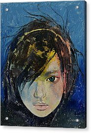 Willow Acrylic Print by Michael Creese