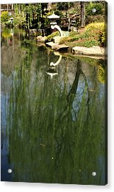 Willow Reflection 2 Acrylic Print