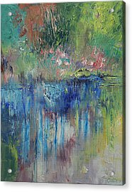 Willows Acrylic Print by Michael Creese