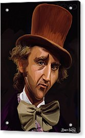 Willy Wonka Acrylic Print