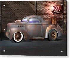 Willys Street Rod Acrylic Print