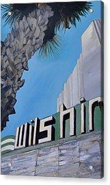 Wilshire Acrylic Print