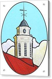 Wilson Hall Cupola - Jmu Acrylic Print