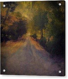 Wilsonville Road Acrylic Print by W i L L Alexander