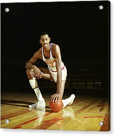 Wilt Chamberlain Acrylic Print by Retro Images Archive