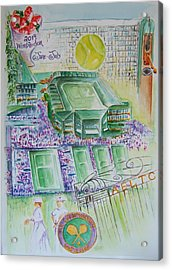Wimbledon 2014 Acrylic Print