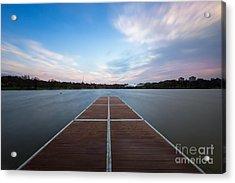 Wimbledon Park Sunset Acrylic Print by Matt Malloy
