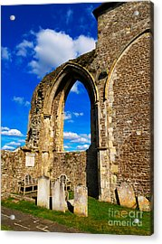 Winchelsea Church Acrylic Print by Louise Heusinkveld