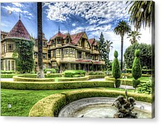 Acrylic Print featuring the photograph Winchester Mystery House by Jim Thompson