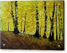 Wind Among Trees Acrylic Print by Vicki Conlon