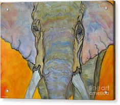Wind And Fire - Fine Art Painting Acrylic Print by Ella Kaye Dickey