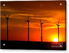 Acrylic Print featuring the photograph Wind And Solar 1 by Jim McCain