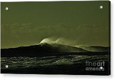 Wind And Waves Acrylic Print