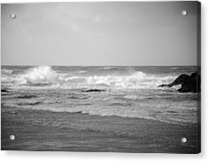 Wind Blown Waves Tofino Acrylic Print