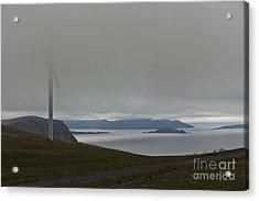 Wind Energy Acrylic Print by Heiko Koehrer-Wagner