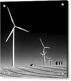 Wind Farm Acrylic Print by Trever Miller