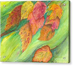 Wind In The Leaves Acrylic Print by Denise Hoag