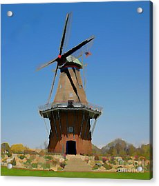 Wind Mill  Acrylic Print by Robert Pearson