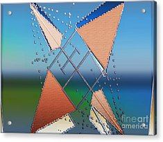 Wind Milling Acrylic Print