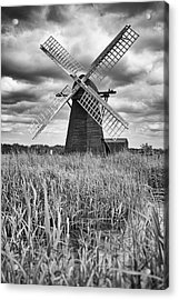 Wind Pump At Herringfleet Acrylic Print