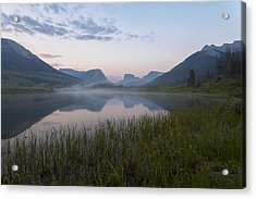 Wind River Morning Acrylic Print
