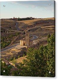 Winding Segovia Roads Acrylic Print by Viacheslav Savitskiy