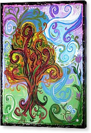 Winding Tree Acrylic Print by Genevieve Esson