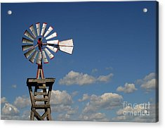 Windmill-5764b Acrylic Print by Gary Gingrich Galleries