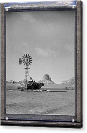Windmill At The Bluffs Acrylic Print