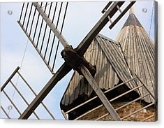 Windmill Acrylic Print by Carrie Warlaumont