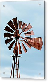 Acrylic Print featuring the photograph Windmill by Cathy Shiflett