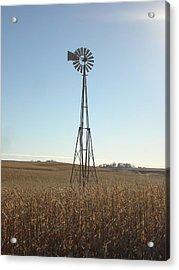 Acrylic Print featuring the photograph Windmill by J L Zarek