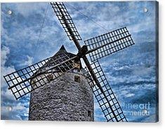 Windmill Of La Mancha Acrylic Print
