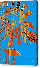 Windmill Of The Sun Acrylic Print by Jame Hayes